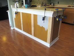 cabinet kitchen trim imageadd to flat doors adding crown molding