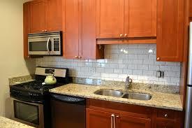Glass Subway Tile Backsplash Kitchen 100 Glass Tile Kitchen Backsplash Pictures Kitchen