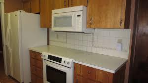 interior pressed metal backsplash contemporary kitchen