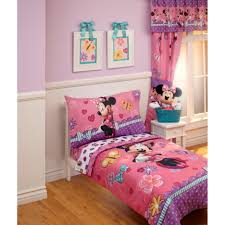 disney baby toddler girls bedroom with minnie mouse bedding set