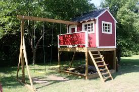diy backyard playhouse plans fun backyard playhouse plans