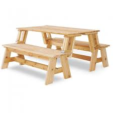 Free Wooden Picnic Table Plans by Wooden Folding Picnic Table Bench Outdoorlivingdecor