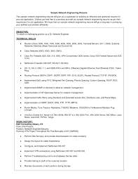 Sample Resume For Mechanical Design Engineer by Download Cisco Support Engineer Sample Resume