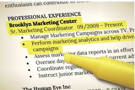 What is a Resume  Resume with highlighting