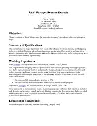 Customer Service Experience Resume Retail Job Resume Resume For Your Job Application