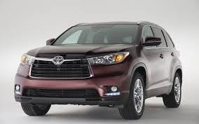 lexus v8 front cut for sale 2014 toyota highlander first look automobile magazine