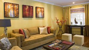 Brown And Yellow Living Room by Living Room Classy Yellow Small Living Room Colors With White