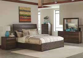 King Size Bedroom Set With Armoire Buy Calabasas Contemporary California King Bed With Wavy Wood