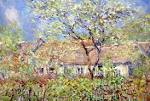 PRINTEMPS a Giverny - Claude Monet Paintings