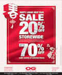 Post Chinese New Year Sale In Singapore