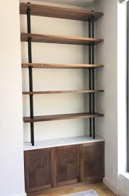 Custom Bookshelves Cost by Brooklyn Bookcasing