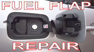 how to repair a fuel filler flap on renault megane 2 scenic 2