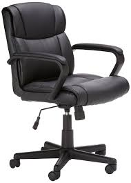 Comfortable Chair by Amazon Com Amazonbasics Mid Back Office Chair Kitchen U0026 Dining