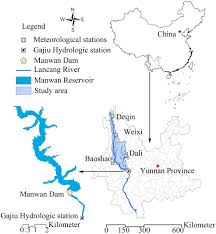Hydrology Map Evaluating Influences Of The Manwan Dam And Climate Variability On