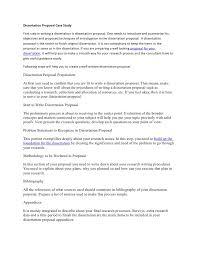 dissertation   Dissertation proposal case study Dissertation Proposal Case Study First step in writing a dissertation is dissertation proposal