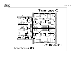 One Level Home Plans Nigerian Semi Detached House Plans One Level Townhome Floor Plan