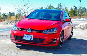 car review 2015 volkswagen golf gti driving