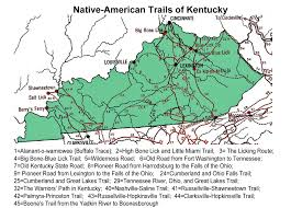 Ohio Kentucky Map by Kentucky 1491 Trail Guide