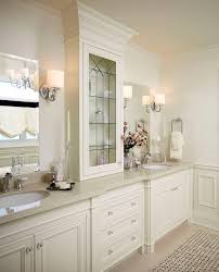 Bathroom Vanity San Francisco by San Francisco Leaded Glass Cabinet Kitchen Traditional With White