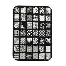 amazon com shari christmas nail art tips image stamp plates