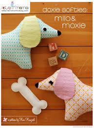 belgian shepherd stuffed animal stuffed animal pattern pdf sewing pattern doxie softie