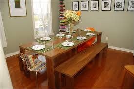 pretentious inspiration dining room table with bench seat all