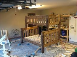 Plans For Building Bunk Beds by Ana White Twin Over Full Bunk Bed Diy Projects