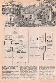 Mid Century Modern House Plan 627 Best Floor Plans Images On Pinterest Vintage Houses Modern