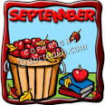 Clip Art: Month Graphic: September Color | abcteach
