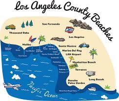 Zip Code Map Of Los Angeles by Department Of Beaches U0026 Harbors