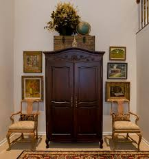 Gayle Crummer Design Before  After - Dining room armoire