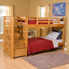 bedroom twin over full bunk bed with stairs bunk beds stairs