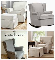 Wingback Rocking Chair Keep Calm And Carry On The Great Glider Debate