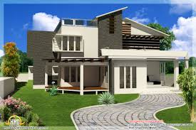 New Contemporary Mix Modern Home Designs Kerala Home Design And - Modern contemporary home designs
