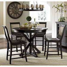 amazon com pine round counter complete table distressed pine