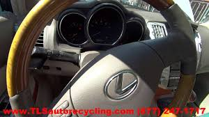 used lexus rx 350 washington state parting out 2009 lexus rx 350 stock 6195rd tls auto recycling