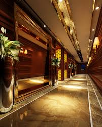 Posh Interiors 3d Model Classy Corridor With Posh Interior Cgtrader