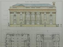 Salt Lake Temple Floor Plan by United States Court House And Post Office Salt Lake City Ut 1902