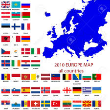 Show Map Of Europe by Download Europe Map With All Countries Major Tourist Attractions
