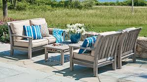 Beachy Porches And Patios Coastal Living - Colorful patio furniture