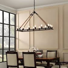 Chandelier Lighting For Dining Room Amazing Of Black Rectangle Chandelier Oval And Rectangular
