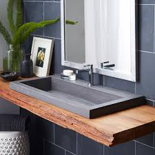 Bathroom Sink Ideas For Small Bathroom I Love The Mix Of Modern And Rustic In This Bathroom Design This