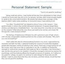 Sample Personal Statement For Grad School Application   Cover