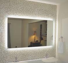 Ideas For Bathroom Mirrors Bathroom Brilliant Ideas Using Lighted Mirror Vanity For Bathroom