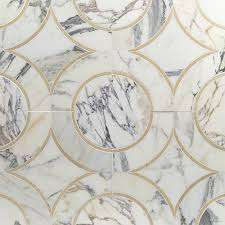 shop 11 81 x 11 81 highland alpenglow crema marfil calcatta gold shop 11 81 x 11 81 highland alpenglow crema marfil calcatta gold polished marble tile in gray at mosaic tile bathroomsmosaic