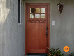 vintage office door with frosted glass craftsman style front doors todays entry doors