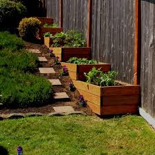 Best  Sloped Backyard Ideas On Pinterest Sloping Backyard - Backyard plans designs