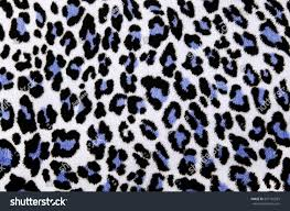 Blue Leopard Print by Blue Leopard Fur Print