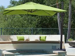 Offset Patio Umbrella by Offset Patio Umbrellas Amp Cantilever Outdoor Umbrellas Pertaining