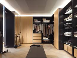 charming wooden l shaped wardrobe closet cabinet system with open